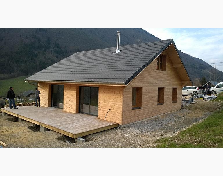 Construction de maison bois – 2013