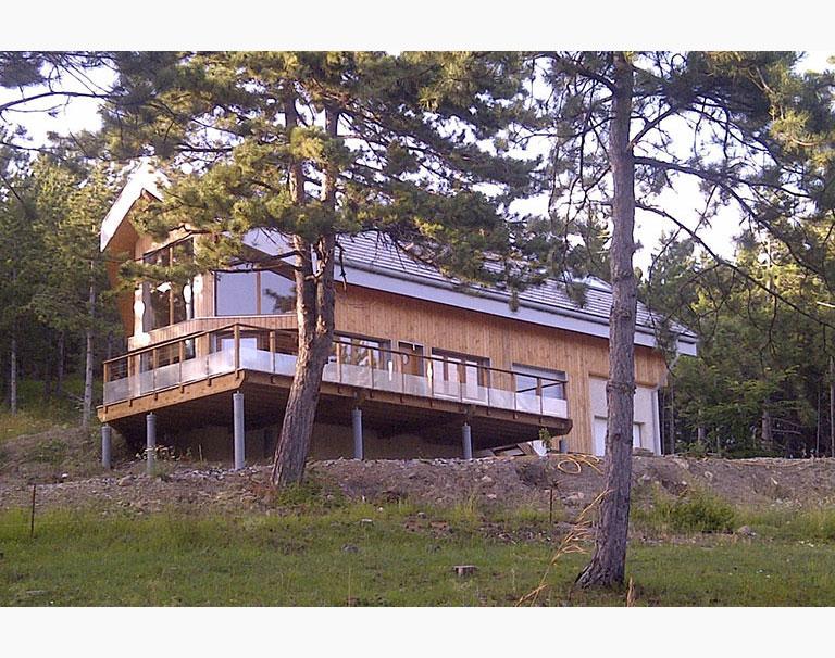 Maison bois individuelle